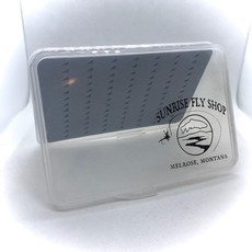 Sunrise Fly Box With Tear Drop Foam | Medium