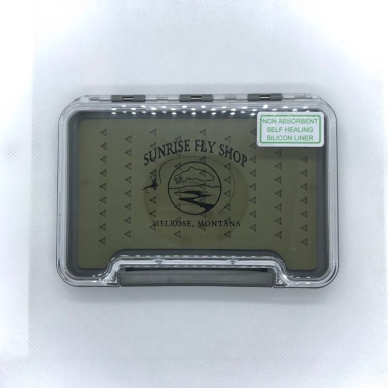 Sunrise Waterproof Fly Box | Silicon | Medium