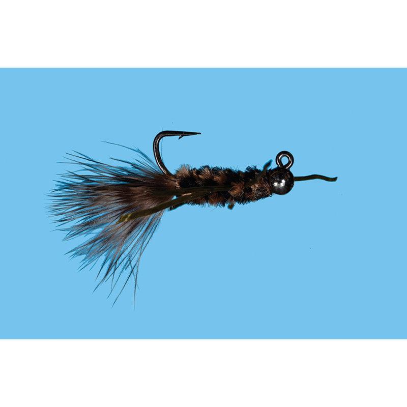 Solitude Fly Company T.J. Hooker | Nymph | Black/Brown, Tan/Brown