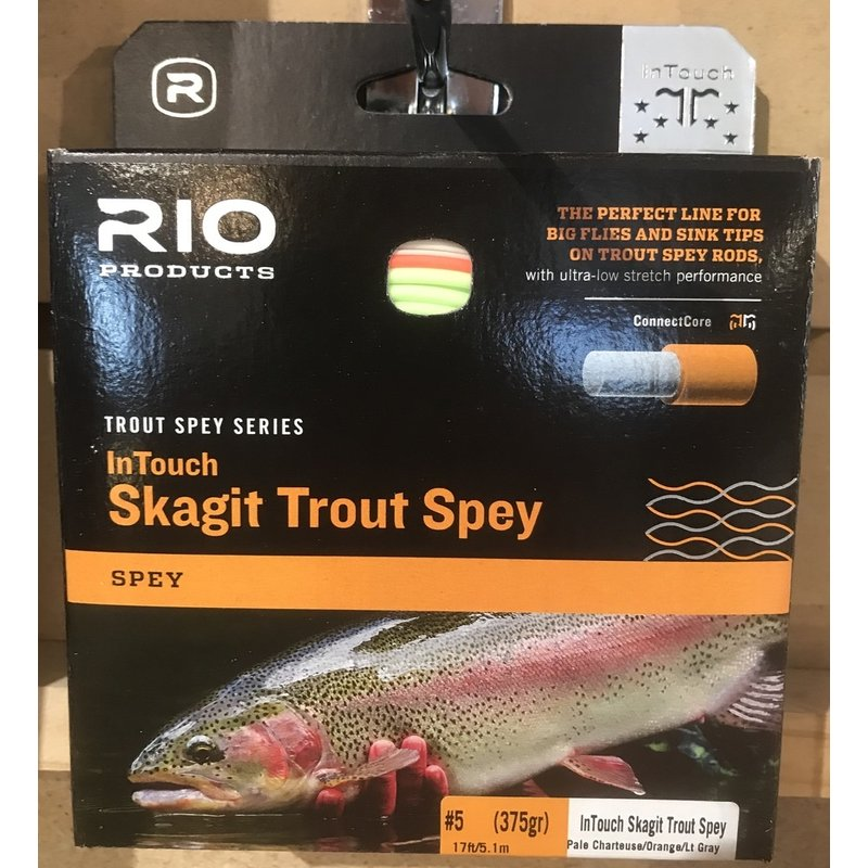 Rio Rio InTouch Trout Spey Skagit Integrated 375 GRAIN