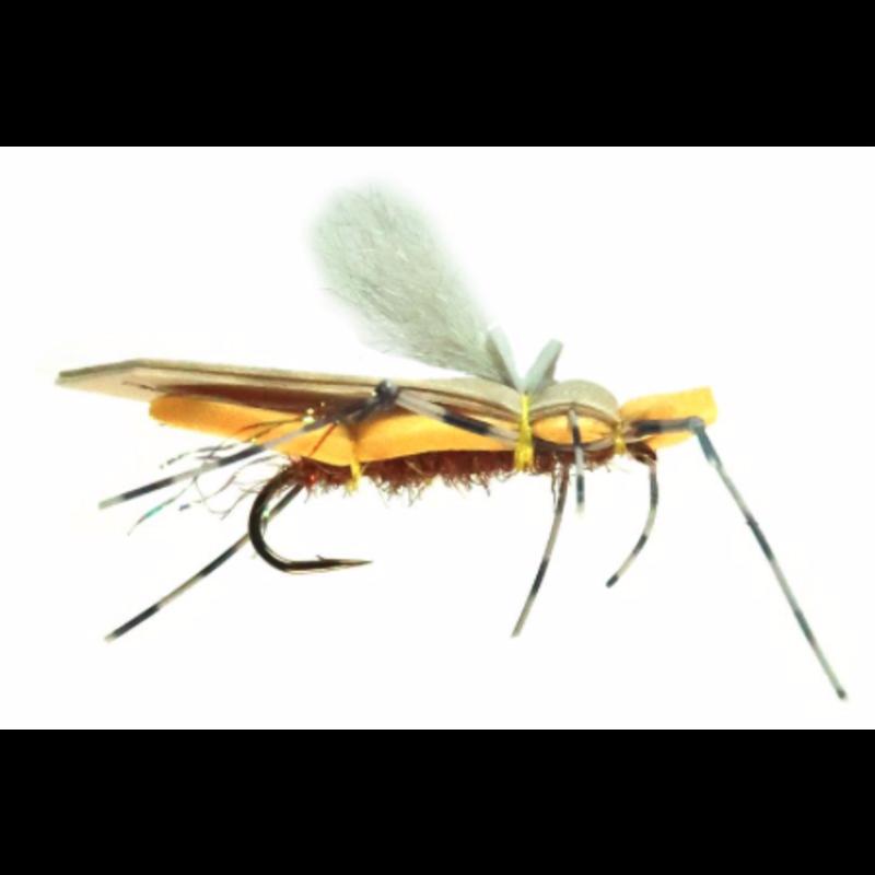 Yellowstone Fly Goods Dornan's Water Walker | Dry Fly | Peanut | #10, #12