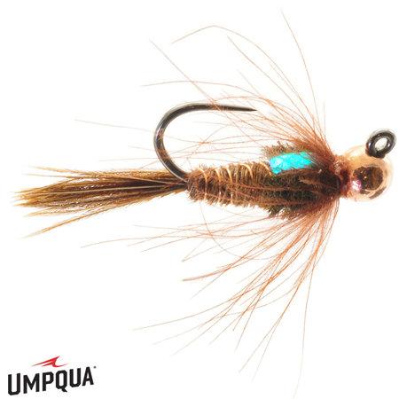 Umpqua Feather Merchants Jig CDC Pheasant Tail Tungston   Nymph