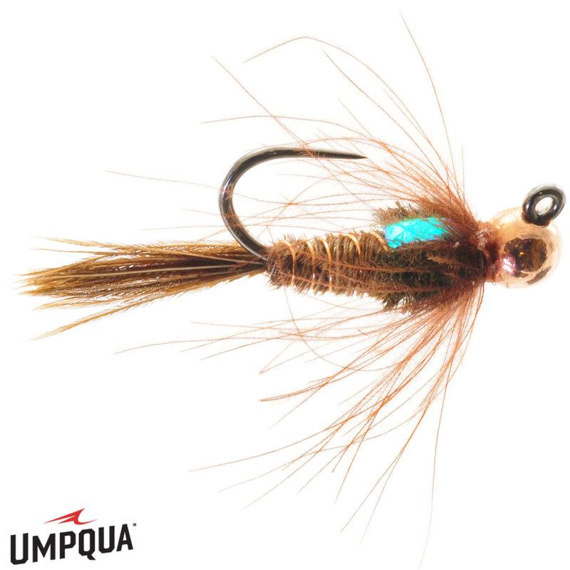 Umpqua Feather Merchants Jig CDC Pheasant Tail Tungston | Nymph | #12, #14
