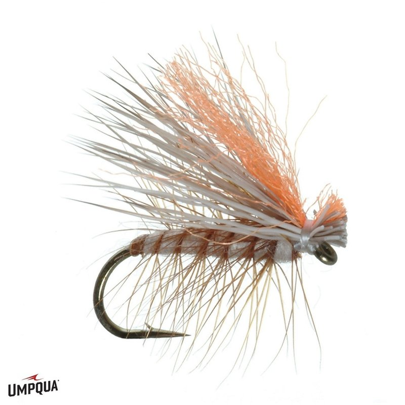 Umpqua Feather Merchants Hot Wing Elk Caddis | Dry Fly | Tan | #12
