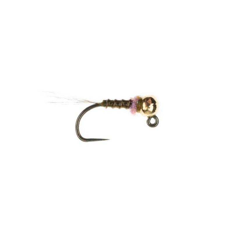Umpqua Feather Merchants Frenchie Jig Egan Thread | Nymph | Olive | #14, #16