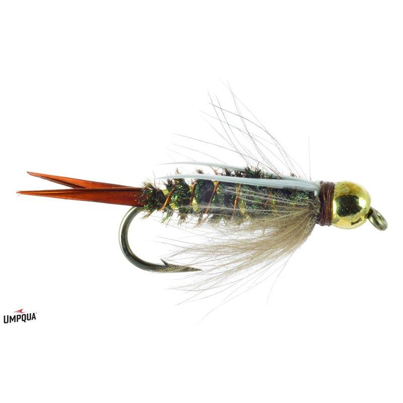 Umpqua Feather Merchants CDC Bead Head Prince Nympn | Nymph | #12