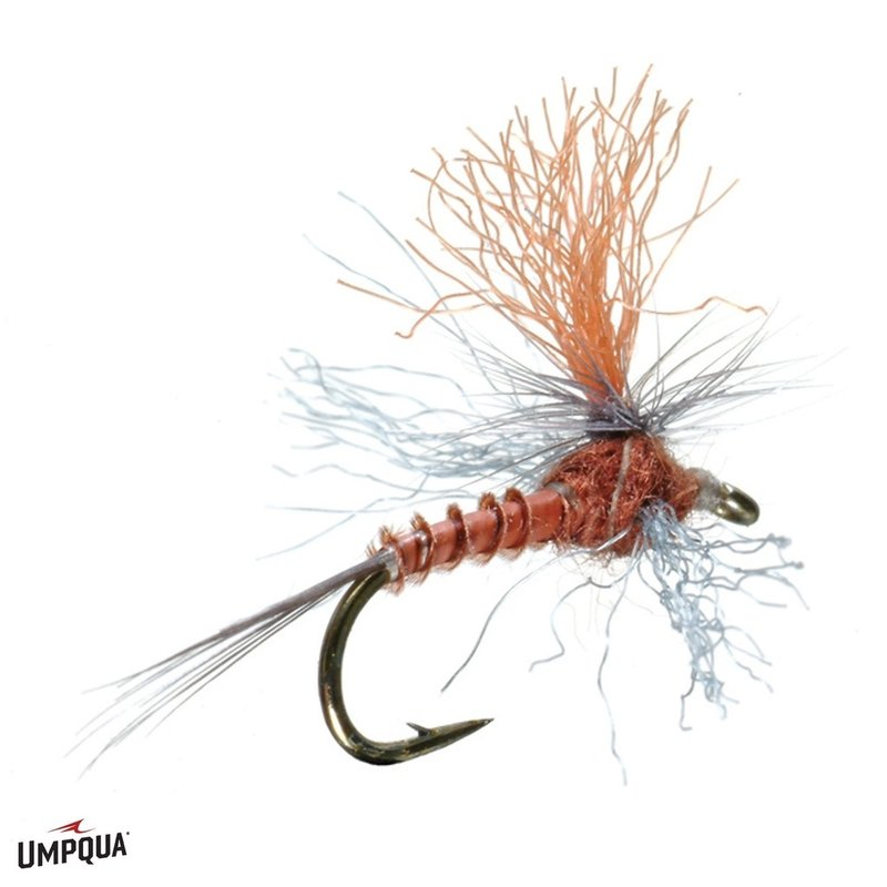 Umpqua Feather Merchants Profile Spinner | Dry Fly | Rusty | #16, #18