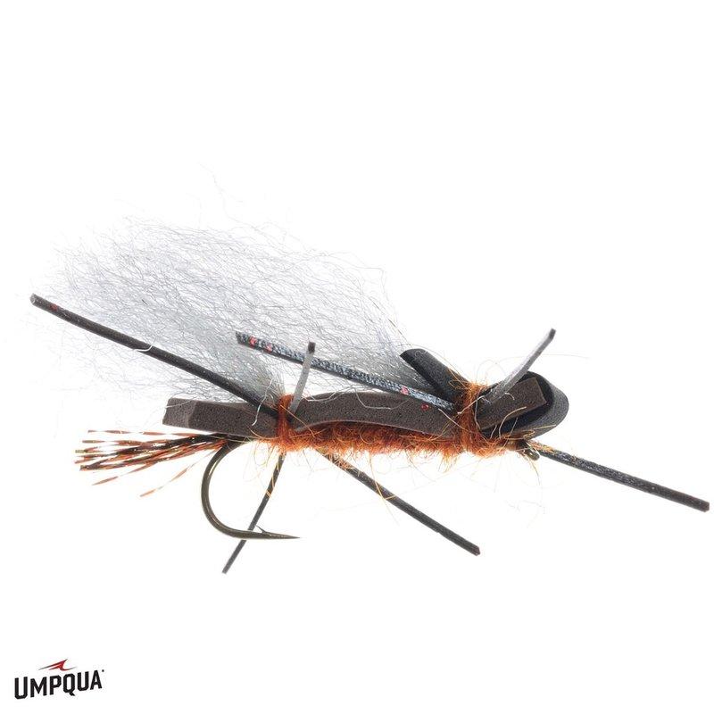 Umpqua Feather Merchants Henry's Fork Foam Stone   Dry Fly   Salmon   #4
