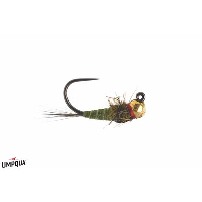 Umpqua Feather Merchants Egan's Iron Lotus Jig | Nymph | Olive | #14, #16