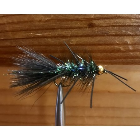Umpqua Feather Merchants Crystal Bugger Rubber Leg | Streamer | Olive, Black