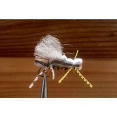 Solitude Fly Company Glommer, Al's | Dry Fly | Tan | #8