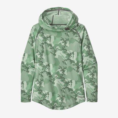 Patagonia Patagonia Women's Tropic Comfort Hoody | Gypsum Green | Resin Yellow