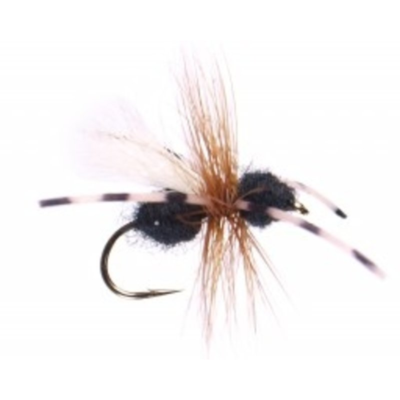 Yellowstone Fly Goods Power Ant | Dry Fly | Black | #16