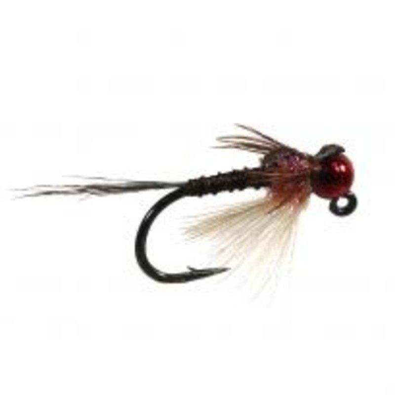 Yellowstone Fly Goods Ninch's Jig Slay Ride | UV Cinnomon | Jig Nymph | #16