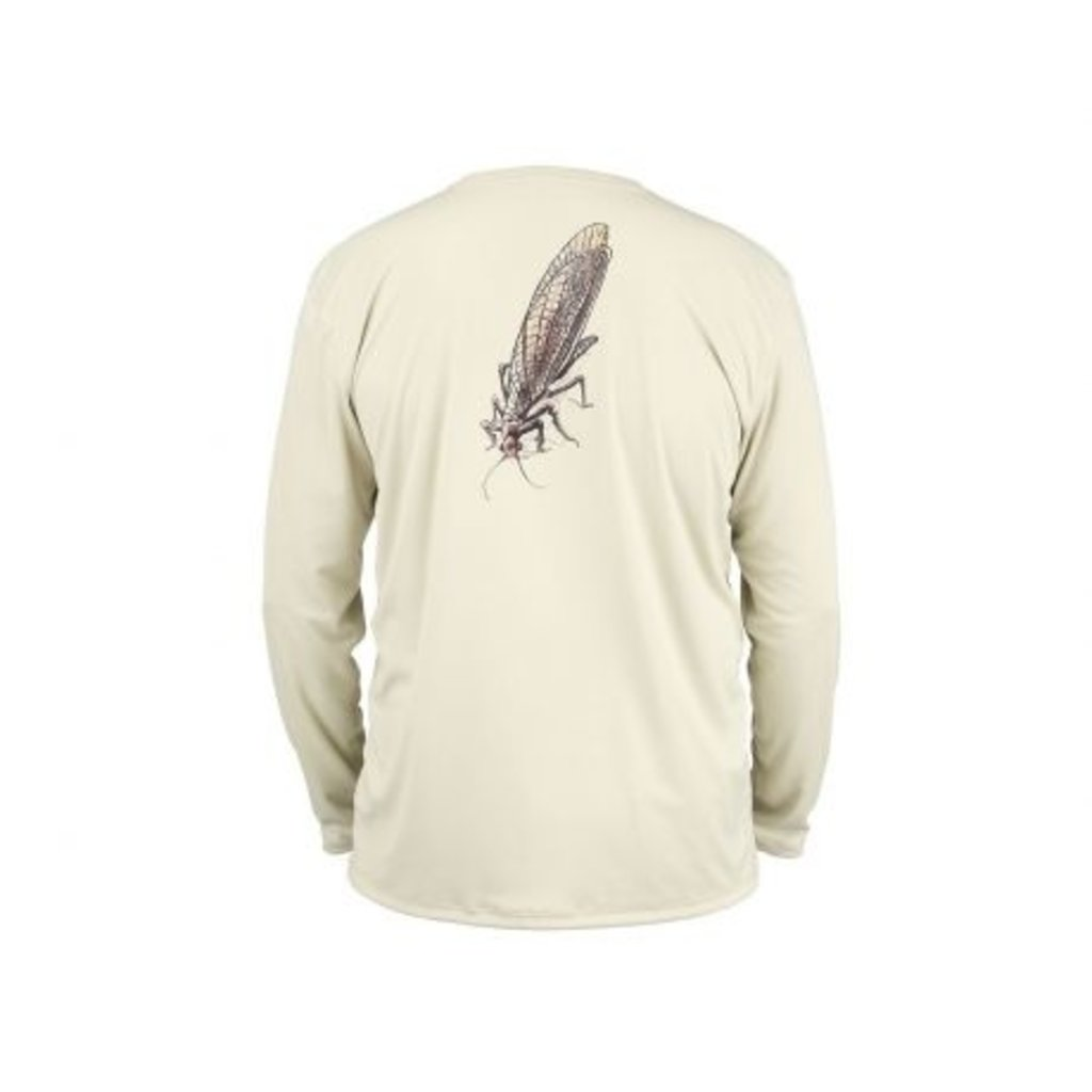 Simms Fishing Products Simms M's Solar Tech Tee | River Collection | LS | Sand