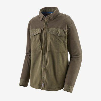 Patagonia M's Long Sleeved Early Rise Snap Shirt | Sage Khaki