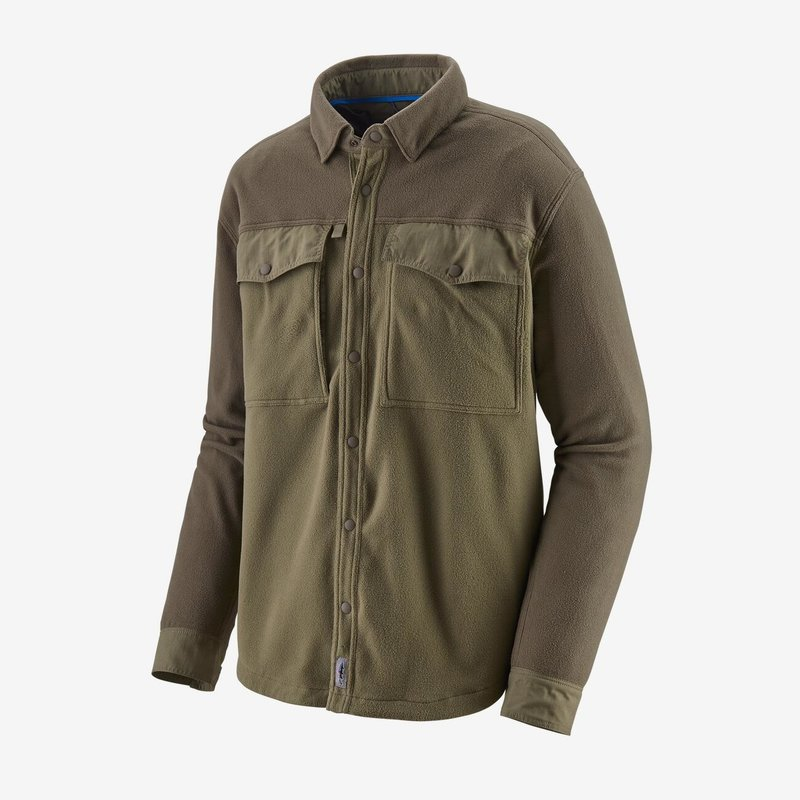 Patagonia M's Long Sleeved Early Rise Snap Shirt | Sage Khaki