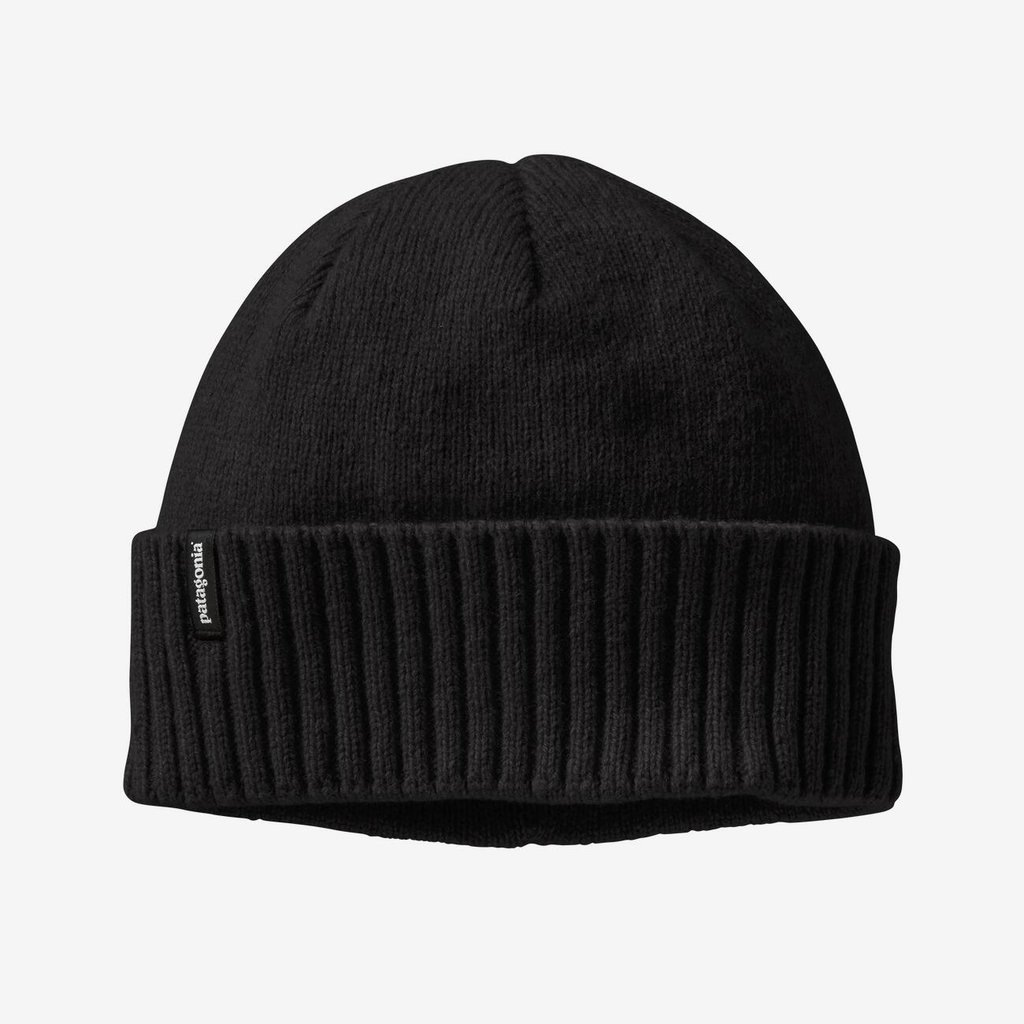 Patagonia Brodeo Beanie | Sunrise Logo | Black