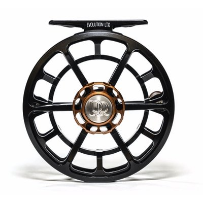 Ross Reels Ross Reels Evolution LTX  Fly Reel | Black | 5/6
