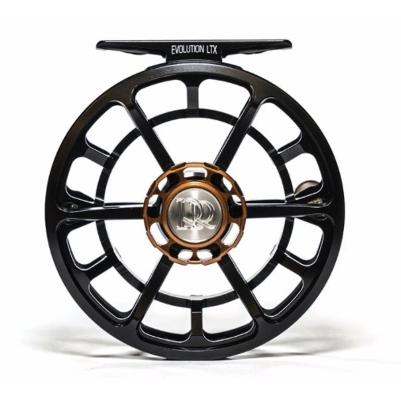 Ross Reels Ross Reels Evolution LTX  Fly Reel | Black, Platinum | 4/5 | 5/6