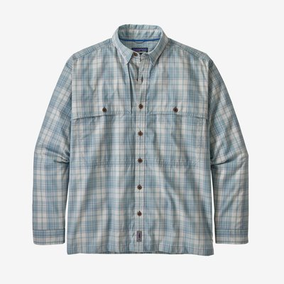 Patagonia Patagonia Island Hopper ll Shirt | Tailored Grey, Berlin Blue