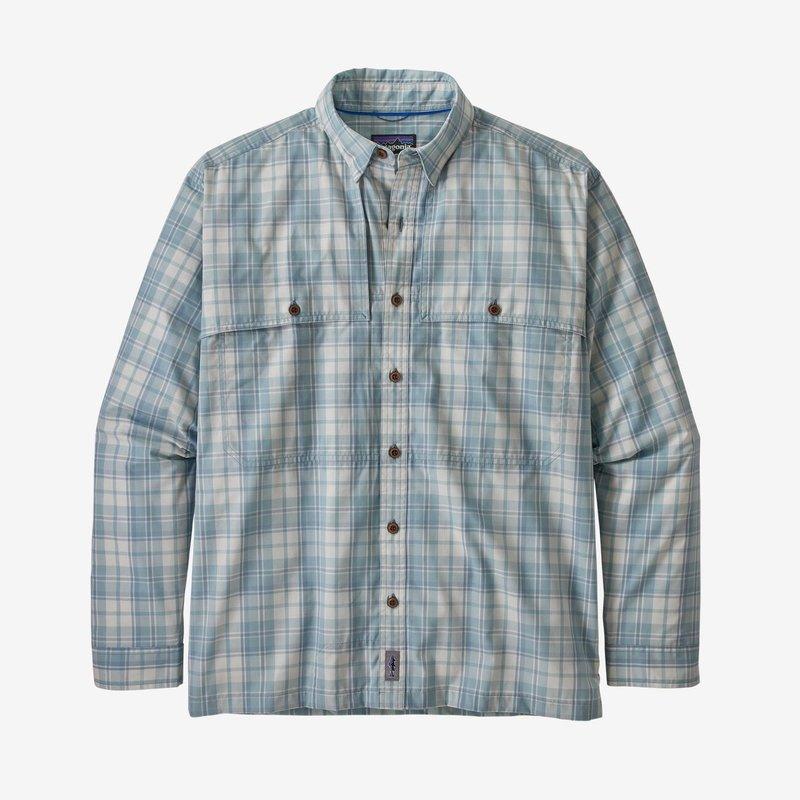 Patagonia Patagonia Island Hopper ll Shirt | Tailored Grey, Berlin Blue