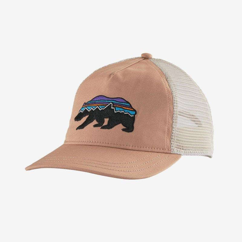 Patagonia Patagonia W's Fitz Roy Bear Layback Trucker Hat | Scotch Pink