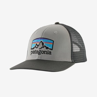 Patagonia Patagonia Fit Roy Horizons Trucker Hat | Drifter Grey