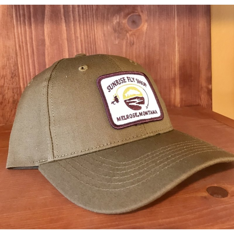 Richardson Sunrise Logo Hat | Solid Buck