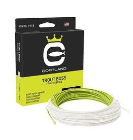 Cortland Cortland Trout Boss Fly Line | WF5, WF6 | Green/Yellow
