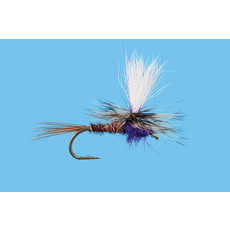 Solitude Fly Company Parachute Purple Rooster | Dry Fly | #14,  #16