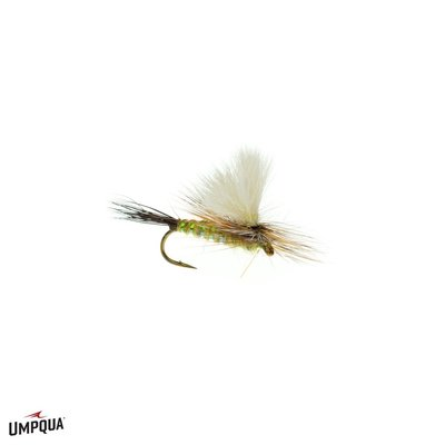 Umpqua Feather Merchants Dennis' Para-Wulff | Dry Fly | Olive | #16, 18