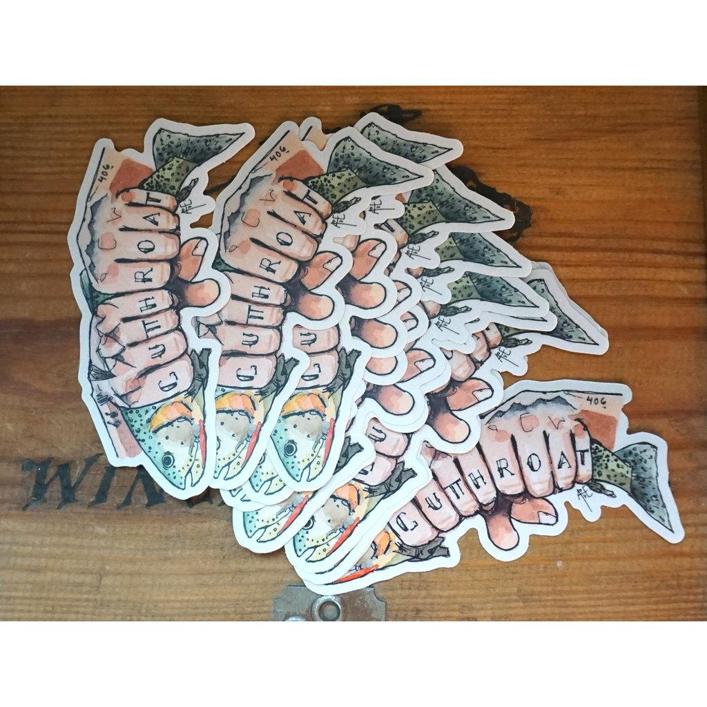 Cutthroat Sticker