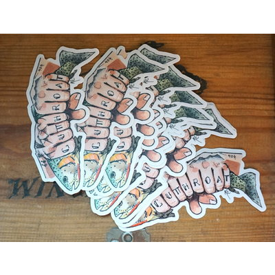 Cutthroat Sticker | Alexis Hove Original