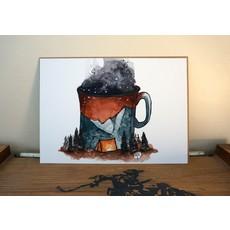 Alexis Hove Camp Coffee Print