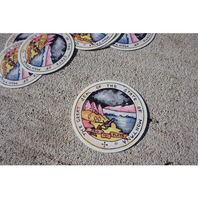 Alexis Hove MT Seal Sticker | 3x3 inch Alexis Hove Original