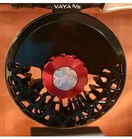 Abel Reels Abel Vaya Fly Reel | Basic Black |  Basic Black With Red Drag Knob | 5/6 | 7/8