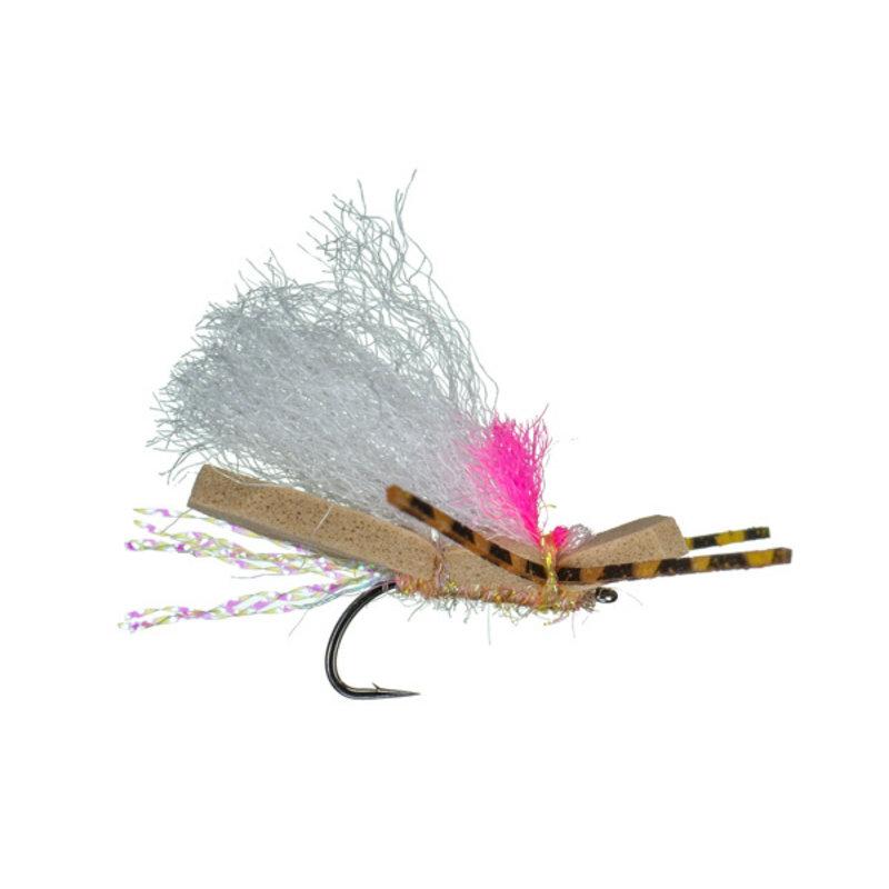 Hi-Vis Micro Chubby | Dry Fly | Peach | #12