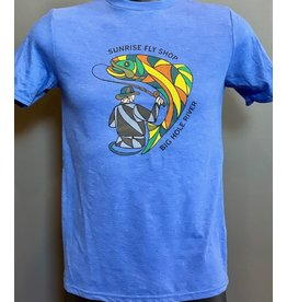 Frontline Design Stained Glass Youth T Shirt