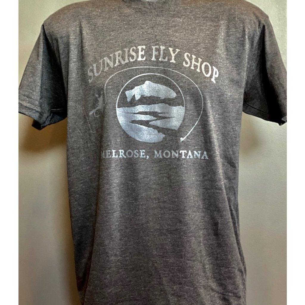 Frontline Design Sunrise Front Logo T Shirt | Vintage Black