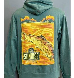 Frontline Design Sunrise Est 2006 Zip Hoody