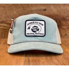Richardson Sunrise Logo Hat | Troutdale Light Blue/Sand