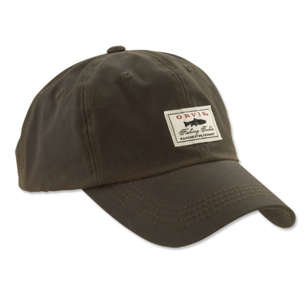 Orvis Vintage Waxed Cotton Ball Cap