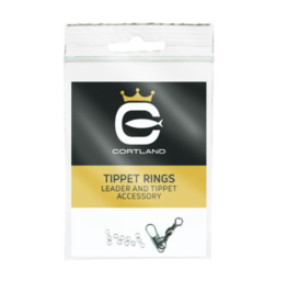 Cortland Tippet Rings | Black | 1mm, 2mm, 3mm