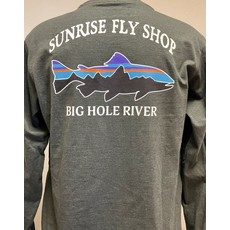 Patagonia Patagonia Long-Sleeved Fitz Roy Trout Responsibili-Tee