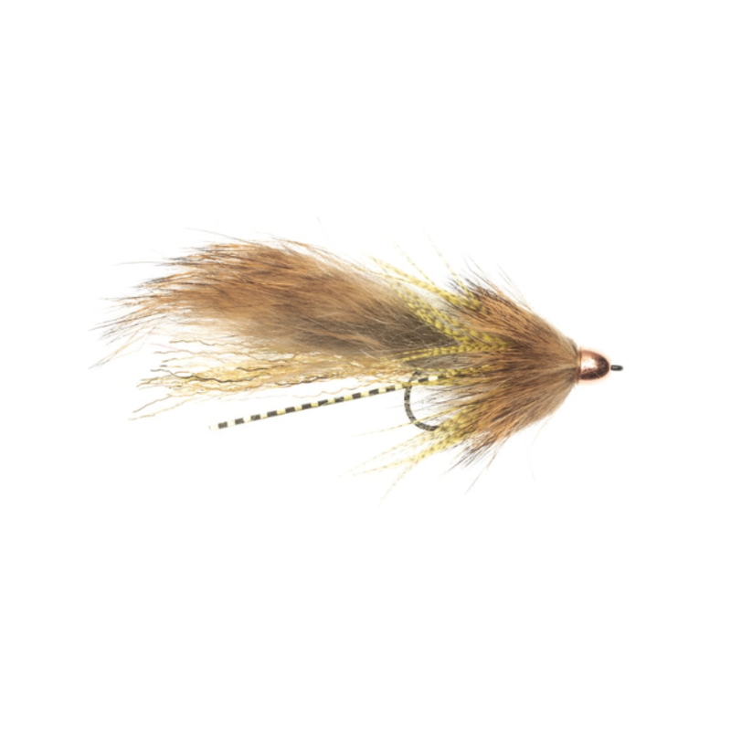 Umpqua Feather Merchants Sparring Partner Winkler | Streamer | White/Gold | Brown Trout | #4