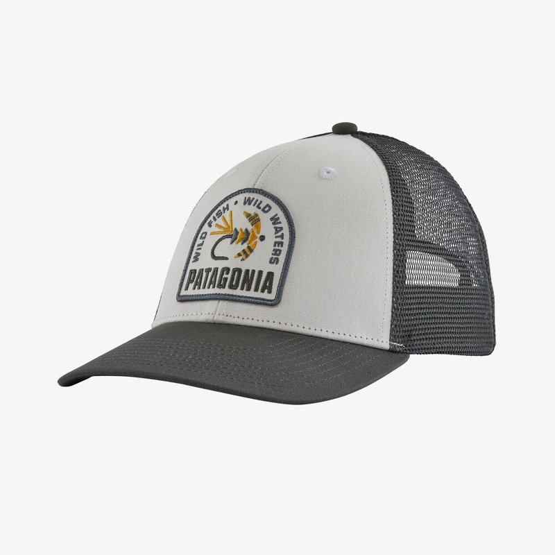 Patagonia Patagonia Soft Hackle LoPro Trucker Hat | White | New Navy