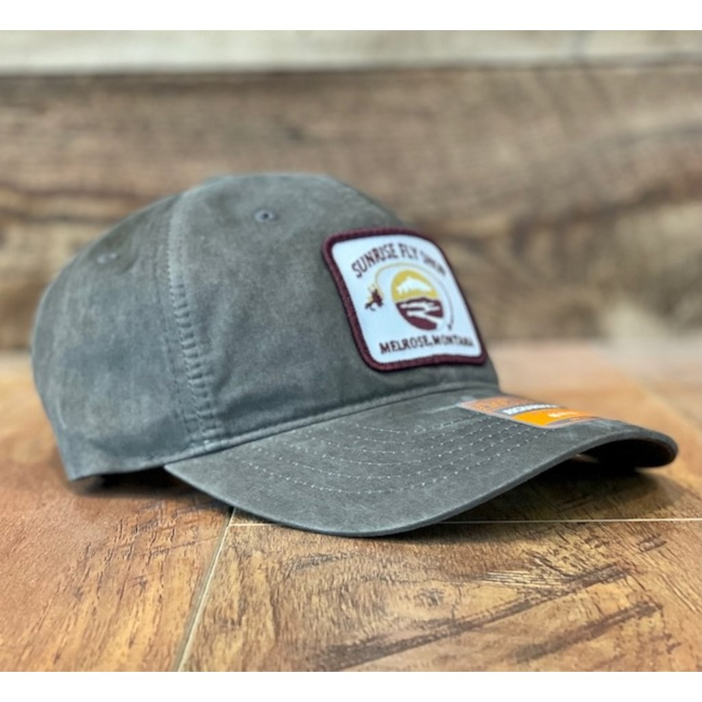 Richardson Sunrise Logo Hat | Charcoal