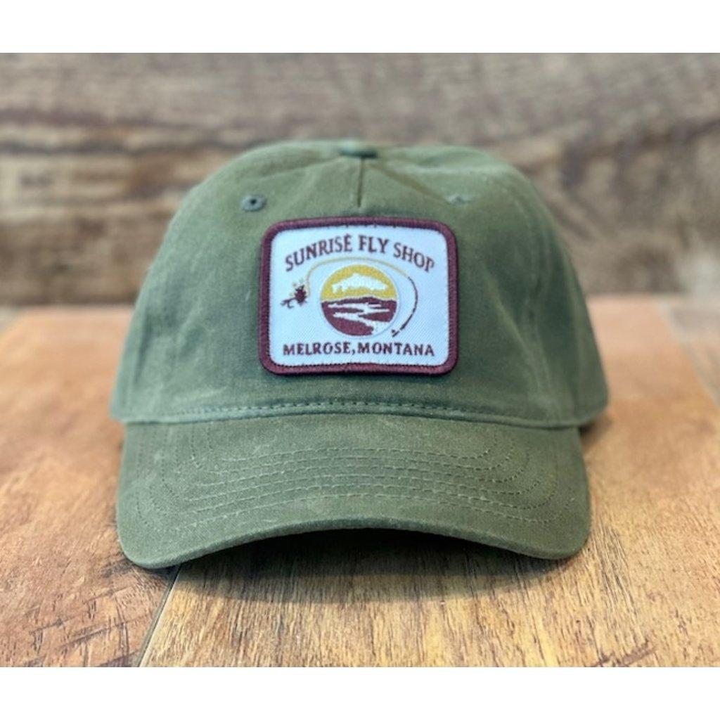 Richardson Sunrise Logo Hat | Olive