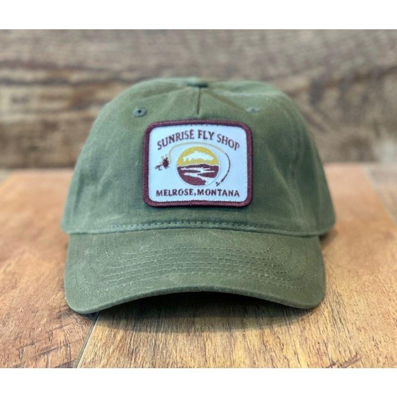 Richardson Sunrise Logo Hat   Olive